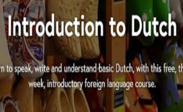 Free Introduction to Dutch Online Course – 18 November