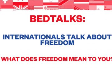 Bedtalks: Internationals talk about Freedom