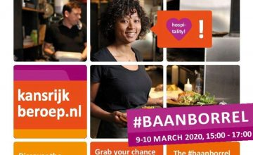 BaanBorrel 9 and 10 March- jobs in hospitality for Internationals!