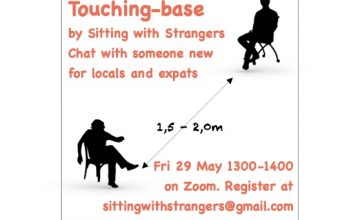 Sitting with strangers – ONLINE