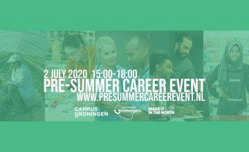 Pre-summer Career Event ONLINE