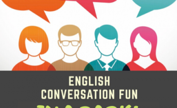 English Conversation Fun in a park! (9 July)